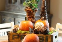 Table Tops / Decorating your table tops for different seasons