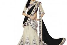 Vibrant Patch Work Lehengas / Be the most fashionable and admirable chic of your clan by sneaking into radiant patch work lehengas available at IndiaRush.