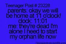 Teenager qutovs