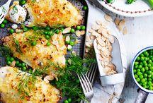 Pesca / Pescatarian recipes - vegetarian plus fish / by Lauren (Elleby Design)