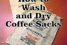 Coffee sack projects