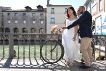 A country chic wedding in Treviso, Italy / Andre and Shona from Ireland enjoyed in March a country chic glorious Spring day wedding in Treviso, an ideal town for a country chic wedding with plenty of choices of good restaurants, beautiful squares, canals and water mills.