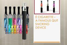 E cigarette – a famous quit smoking device