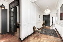 Appartement haussmanien/contemporain