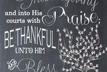 GIVE THANKS / All things Thanksgiving.