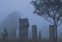 Standing Stones / The Australian Standing Stones at Glen Innes, Australia.