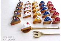 decorated cookies / by Isabella Geddes