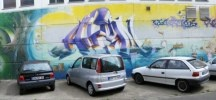 Street art / I like facade painting and good graffiti