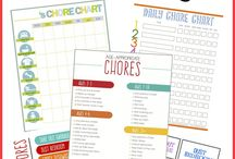 Girls chore chart / by Breanna Kanchier
