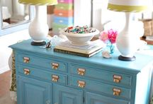 Painted/Reuse of Furniture