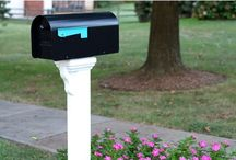 Mailbox Ideas / by Sabrina Whitehead