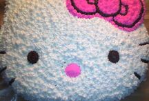Hello kitty birthday / by Charlene Boucher