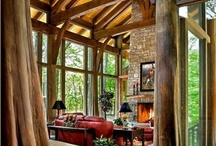 Cottages & Cabins / Cozy out of the grind inspiration for your living.