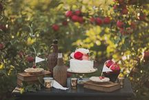 Orchard Theme Party / From spring among the blossoms to fall's gorgeous harvest, the orchard offers a beautiful setting for a reception or party. We've found ideas for favors, decor, bouquets, cakes and menus, invitations, and more, all sharing rustic details and country charm. / by The Favor Stylist • Emily