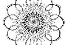 Printables-Mandala / by Amy Baird Lynch