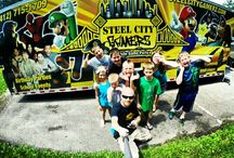 GoPro Birthday Party Action Shots! / Here are a few photos of the kids having a great time in our #mobilegametruck. Looking for a new #birthdaypartyidea? Steel City Gamerz provides a AMAZING experience your child will never forget. For more information about our AMAZING #videogameparty visit www.steelcitygamerz.com