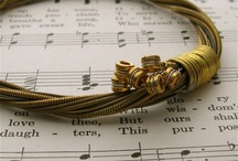 Inspired / Art, jewlery, anything we see that we like that is inspired by music and/or instruments!