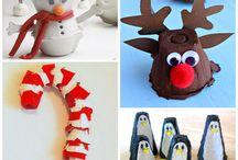 Kid's Christmas craft