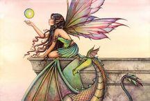 Inspiration Fairies / Dibujos de hadas