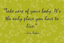 Quotes / Inspiring quotes about health and nutrition.
