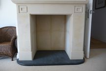 Fireplaces / Elegant bespoke natural stone fireplaces which ensures they form a key focal point in your home. Beautifully handcrafted from limestone, yorkstone, granite, marble and slate.