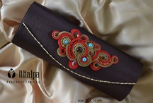 Clutch Bag with Soutache