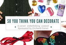 So You Think You Can Decorate - Orchard Corset