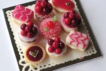 comida en miniatura / unas mini decoraciones de pequeña comida