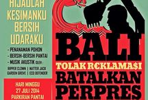 BALI TOLAK REKLAMASI BERKEDOK REVITALISASI TELUK BENOA / MOVEMENT OF INDIGENOUS PEOPLE BALI!!! To REFUSE RECLAMATION GUISE REVITALISATION THE BAY BENOA