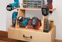 Cabinet for power tools