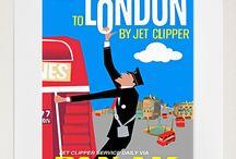 Vintage London / Beautiful Vintage Ideas..