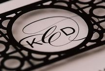 Elegant Stationery / The Elegant style is graceful and timeless. Its design reflects classic embellishments, clean lines and luxurious papers. This style complements the bride who seeks that certain level of sophistication.