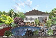 Z mé práce / Zahrady, které jsem navrhovala