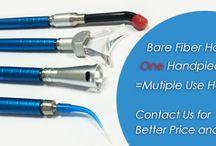 Bare Fiber Dental Handpiece