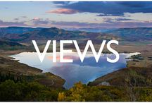 Expansive Views / Steamboat View extending from the Flat Tops, Strawberry Park, Hahn's Peak, Mt. Werner and beyond!