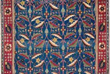 The ABC's of Orientals / Did you know oriental carpets often tell a story? Find out some of the meanings behind the designs and motifs on this board