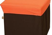 BOX STOOL Orange / BLC377OR