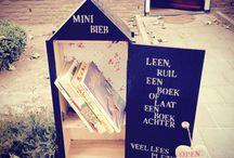 minibieb / boekenhuisjes