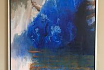 Gerard van der Weerd / Impressionistisch schilder van sfeervolle intieme modellen in interieur. De meester van het grote gebaar op het kleine vlak die als geen ander weet te spelen met de abstracties en figuraties van de verfhuid.