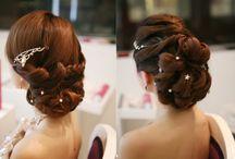 Hair styles n colours