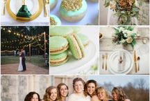 casamento - verde dourado green gold