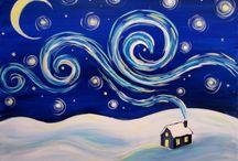 PTA paint night