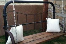 diy old bed frame