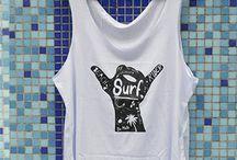 Regatas femininas de Surf / Catálogo da marca Da Mata camisetas. Loja online com camisas de Surf Femininas.