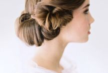 Vintage hair and dress ideas