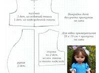 Выкройки одежды для куколок
