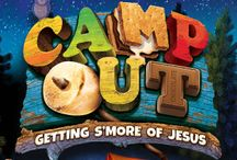 Camp Out Weekend VBS / Ideas and inspiration for Camp Out Weekend VBS 2017 by Group