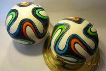 Football cake / x