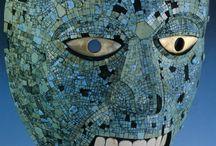 Arte mascara azul