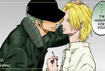 Zoro e Sanji - One Piece
